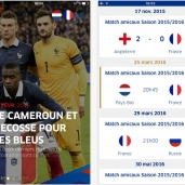 APPLICATION EQUIPE DE FRANCE