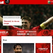 Refonte du site FRANCE FOOTBALL